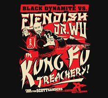 Black Dynamite vs. Fiendish Dr. Wu Unisex T-Shirt