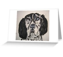Another Rescue Dog Greeting Card