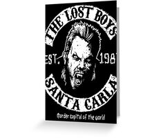 The Lost Boys Motorcycle Club Greeting Card