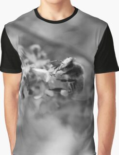 Wasp in Flowers Graphic T-Shirt
