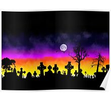 Sunset Over Necropolis Poster