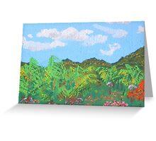 Guana Bay Hillside Greeting Card
