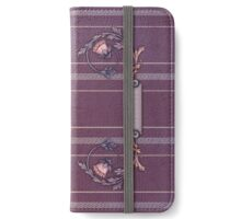 Purplish-Red Upholstery  iPad iPhone Wallet/Case/Skin