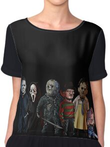 Slasher Squad Chiffon Top