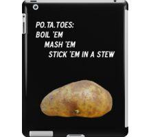 Potatoes iPad Case/Skin