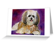Shih-Tzu Greeting Card