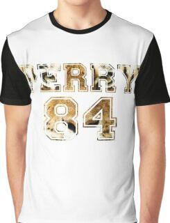 Katy Perry Varsity Tiger Design Graphic T-Shirt