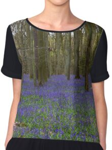Bluebell wood Chiffon Top
