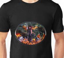 Sexy Biker road warrior Unisex T-Shirt