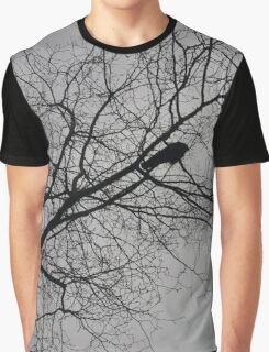 Crow Alone  Graphic T-Shirt