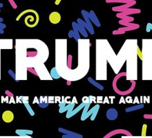 Make America Retro Again Sticker