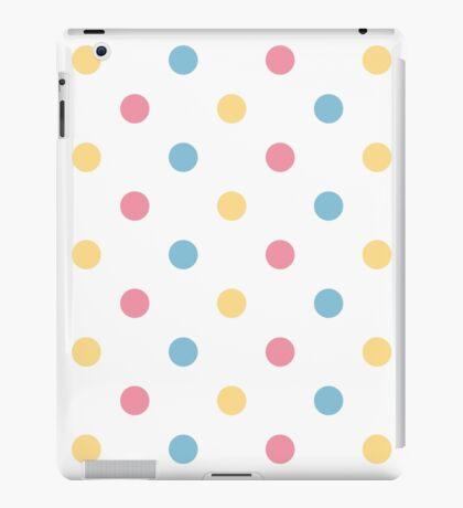 Fresh polka dot seamless background or pattern iPad Case/Skin