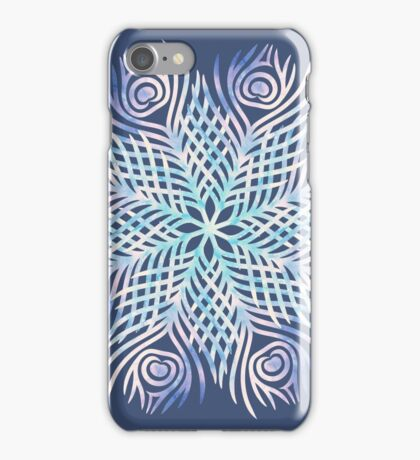 Peacock feathers / Mandala iPhone Case/Skin