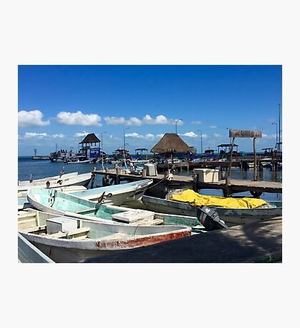 Motor boats Photographic Print