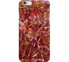 Pink Gold Sculpture Painting iPhone Case/Skin