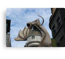 Harry Potter Dragon Canvas Print