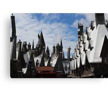 Harry Potter Town Canvas Print
