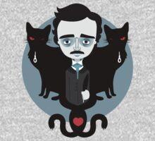 Edgar Allan Poe One Piece - Short Sleeve