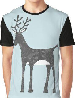 Genevieve's Reindeer Graphic T-Shirt
