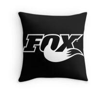 Fox Racing Throw Pillow
