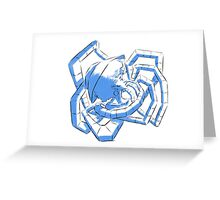 Mechanical Coil Greeting Card