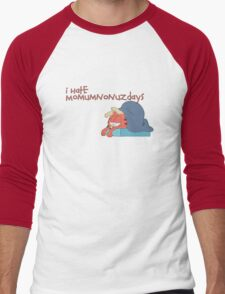 Rick and Morty: Gazorpazorpfield - I Hate  Momumnonuzdays Men's Baseball ¾ T-Shirt