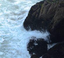 Coastal Crashing Sticker