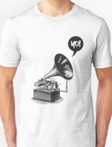Hip-Hop Gramophone Unisex T-Shirt