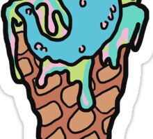 I Scream Sticker