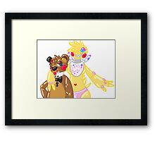 Sass Masters Framed Print