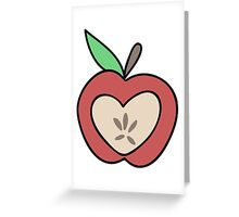 Heart Apple Greeting Card