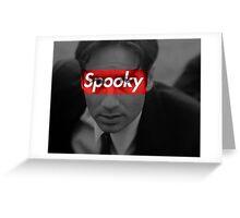 Spooky Mulder Greeting Card