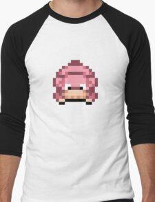 8-bit Slow poke  Men's Baseball ¾ T-Shirt