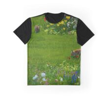 Garden Foxlings Graphic T-Shirt
