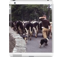 Driving the Cows iPad Case/Skin