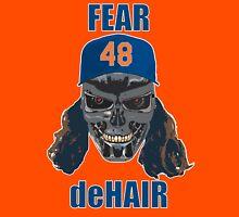 Fear deHair (w/ Blue Lettering) Unisex T-Shirt