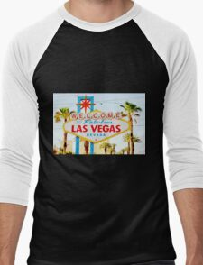 Viva Las Vegas Men's Baseball ¾ T-Shirt