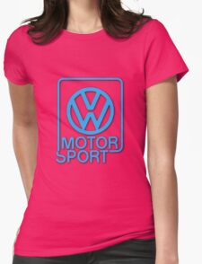 VW Motorsport Womens Fitted T-Shirt