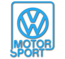 VW Motorsport Photographic Print