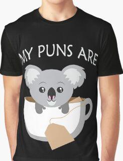 Koala My Puns Are Graphic T-Shirt