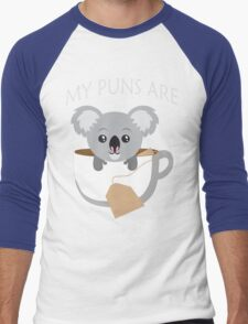 Koala My Puns Are Men's Baseball ¾ T-Shirt