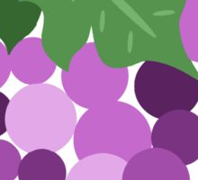 Purple Grapes Sticker