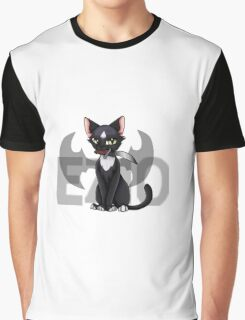 Ezio - Cat Art Graphic T-Shirt