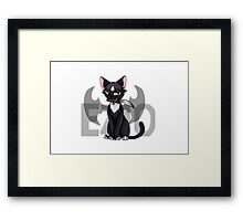 Ezio - Cat Art Framed Print