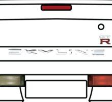 Nissan GTR R34 Black Sticker