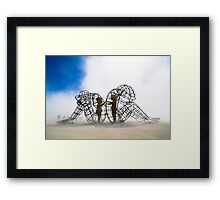 LOVE by Alexandr Milov Framed Print
