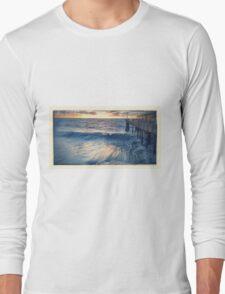 Waves - Redondo Beach Pier  Long Sleeve T-Shirt