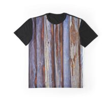 Old Wood Texture Graphic T-Shirt