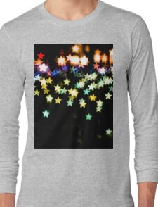 Bokeh Star Long Sleeve T-Shirt