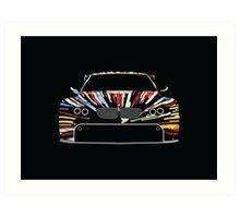 BMW Art Car Art Print